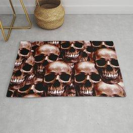 LG skull wall Rug