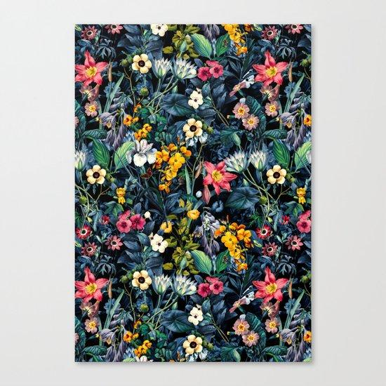 Exotic Garden Canvas Print