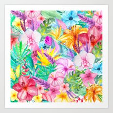 beauty floral i Art Print