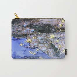 Los Angeles on the radar map Carry-All Pouch