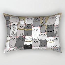 The Glaring - Scandinavian Palette Rectangular Pillow