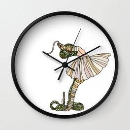Snake Ballerina Tutu Wall Clock