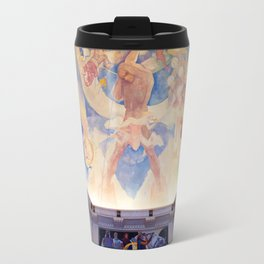 Griffith Observatory Ceiling Art Travel Mug