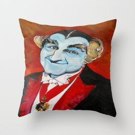 The Munsters Grandpa Munster Throw Pillow