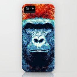 Gorilla -  Colorful Animals iPhone Case