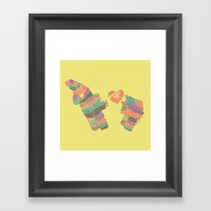 Piñatas Have Feelings Too Framed Art Print