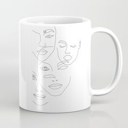 Different beauty Coffee Mug