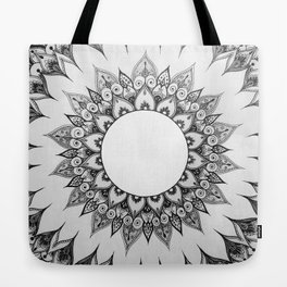 Mandala Zentangle Tote Bag