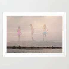 Beach Innocence Art Print