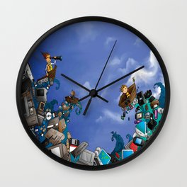 Sea of Technology Wall Clock