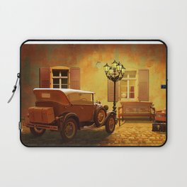 Rooms Vacant, or The Arrival In The Past Laptop Sleeve