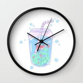 Koi Fish Can Wall Clock