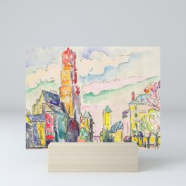 """Paul Signac """"Rodez"""" Mini Art Print"""
