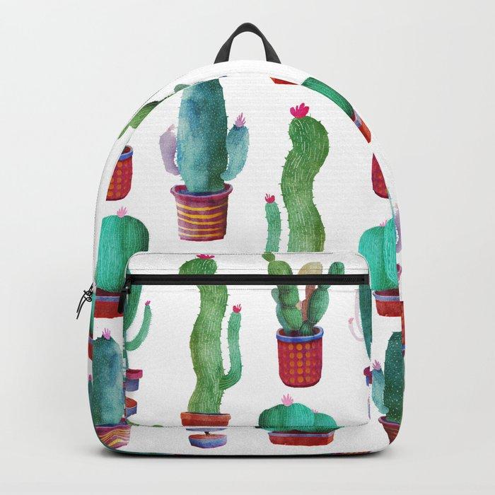 cactus green Backpack