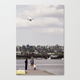 Planewatching Canvas Print