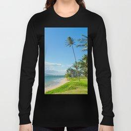 Waipuilani Beach Kihei Maui Hawaii Long Sleeve T-shirt