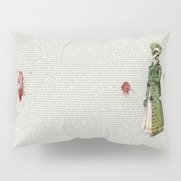 Pride & Prejudice - Zombified Pillow Sham