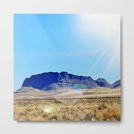 Nevada Plateau Metal Print