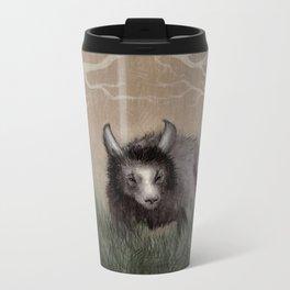 Forest Beastie Metal Travel Mug