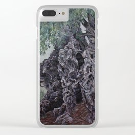 The Grandfather Clear iPhone Case