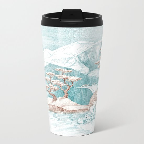 Arctic Mirage Metal Travel Mug