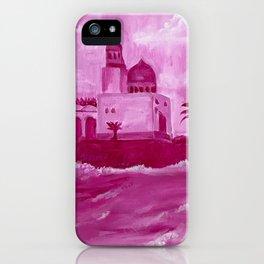 Pink Oceanside Masjid iPhone Case