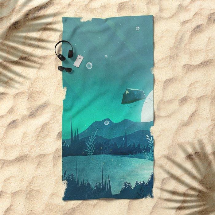 Beneath Barafundle Beach Towel