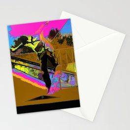 The Lift-Off - Skateboarder Stationery Cards