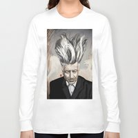 david lynch Long Sleeve T-shirts featuring David Lynch by Khasis Lieb