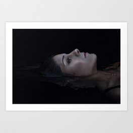 Out of Depths I Cry To You Art Print