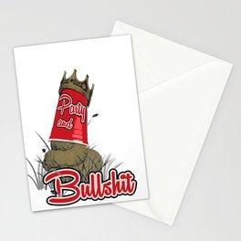 Party & Bullshit Stationery Cards
