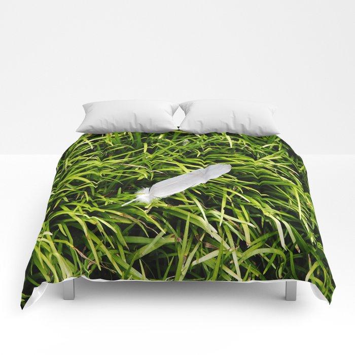 Bird Feather Comforters