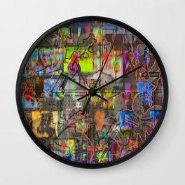 Raison D'Etre [A Brand New Experiment Series] Wall Clock