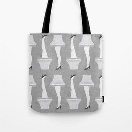 Leg Lamp Grey Tote Bag