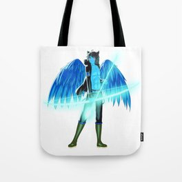 Luc Ready for Battle (No Background) Tote Bag