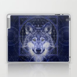 Wolf Geometry Laptop & iPad Skin