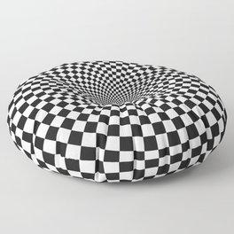 Vertigo Optical Art Floor Pillow