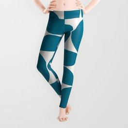Modern Geometric Seamless Pattern Mid Century VIII Leggings