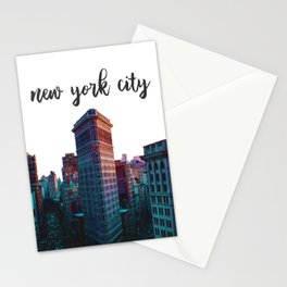 New York City Flatiron Building Stationery Cards
