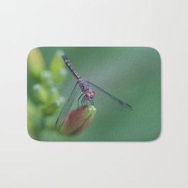 dragonflies are fairies in diguise Bath Mat