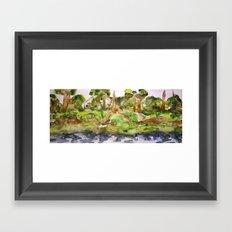 Castaway Island Nature Preserve #3 Framed Art Print