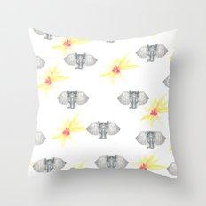 INDIAN WALLPAPER Throw Pillow