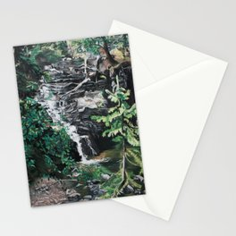 One Half of Twin Falls Stationery Cards