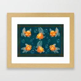 Goldfishs Framed Art Print