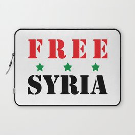 FREE SYRIA Laptop Sleeve
