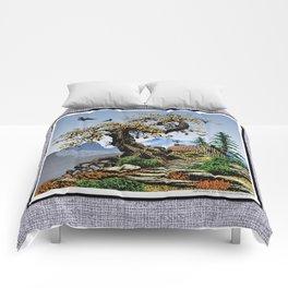 BLUE RIDGE OAK AND KOMA KULSHAN Comforters