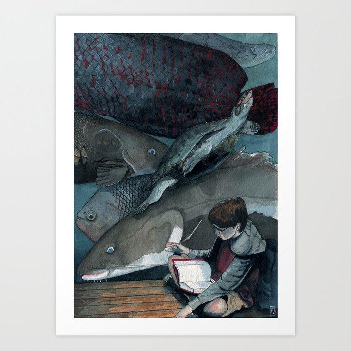 Amazons Art Print