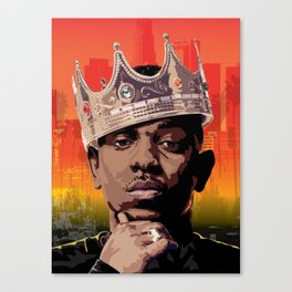 King Kendrick Canvas Print