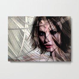 Celebrity Row - Sienna Metal Print