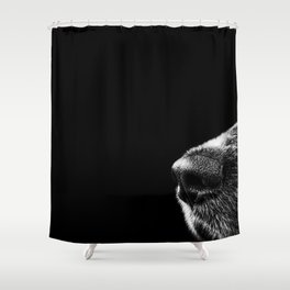 Sneaky Dog Shower Curtain